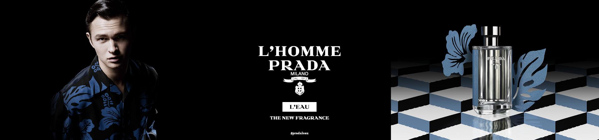 Prada L'Homme online bestellen | Parfumerie.nl