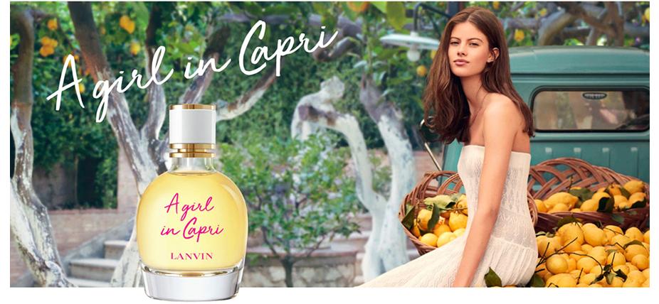 A Girl in Capri