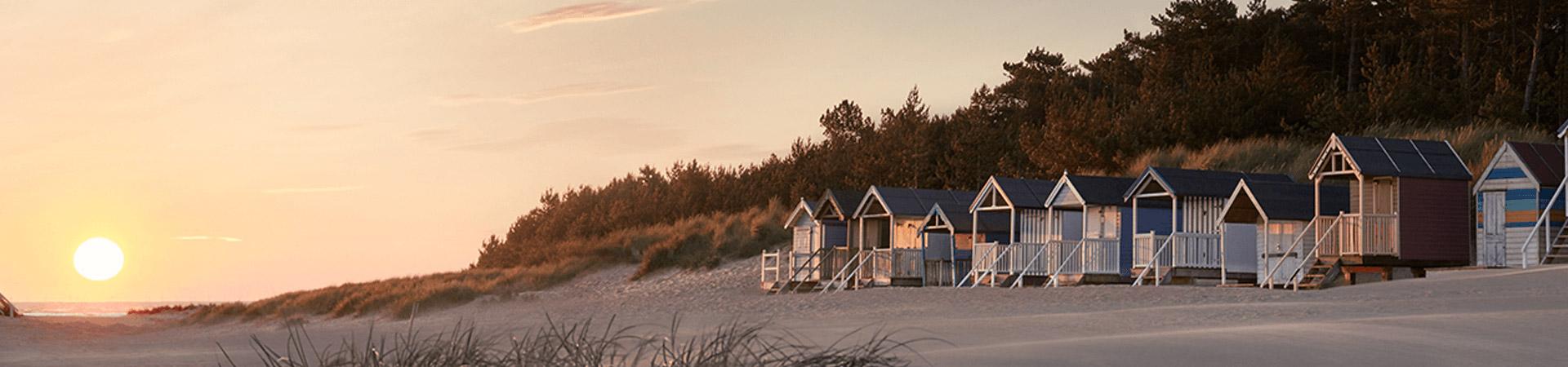 Beach Hut Woman