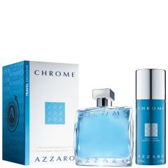 Azzaro Chrome 100 ml set