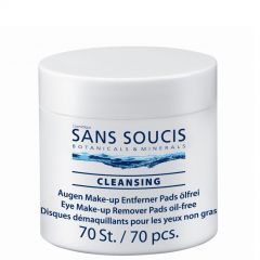 Sans Soucis Eye Make up Remover Pads 70 stuks