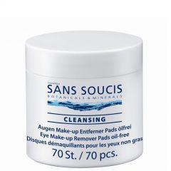 Sans Soucis Eye Make up Remover Pads 70 stuks