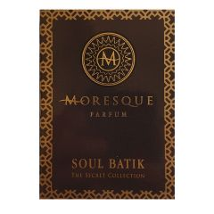 Moresque Secret Collection Soul Batik 2 ml eau de parfum spray