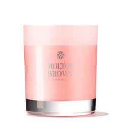 Molton Brown Delicious Rhubarb & Rose Single Wick kaars