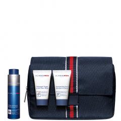 Clarins Men Premium Value Pack- Revitalizing Essentials set