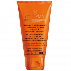 Collistar Zon Globale Anti-Age Protection Tanning Face Cream SPF30 - 50ml