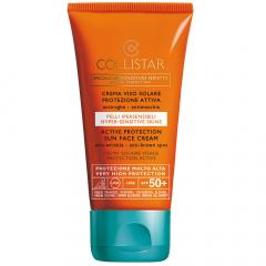 Collistar Zon Active Protection Tanning Face Cr SPF 50+ 50ml