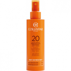 Collistar Zon Tanning Moisturizing Milk Spray Face-Body SPF20