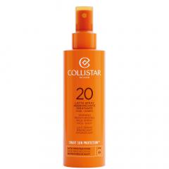 Collistar Zon Tanning Moisturizing Milk Spray Face-Body SPF20