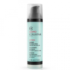 Collistar Man Total Freshness Moisturizer Face and Eye Cream-Gel 24h