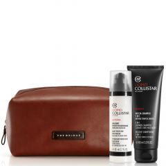 Collistar Man Total Freshness Moisturizer Face and Eye Cream-Gel 24h 80 ml Set