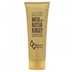Musk by Alyssa Ashley 250 ml glittering hand & bodylotion OP=OP