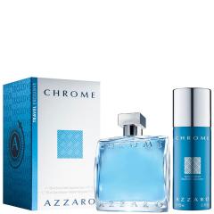 Azzaro Chrome 100 ml set
