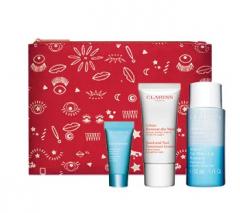 Clarins Make-up tas met luxe miniaturen t.w.v. € 35