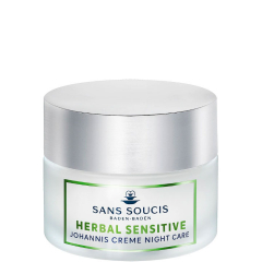 Sans Soucis Herbal Sensitive Johannis Crème Night Care 50 ml