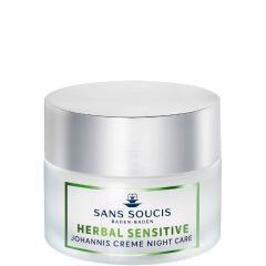 Sans Soucis Herbal Sensitive Johannis Crème Night Care