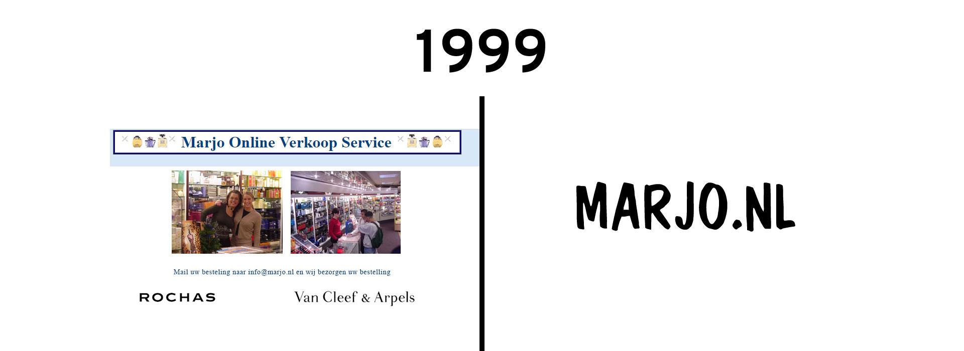 1999 Het jaar waarin het allemaal begon met MARJO