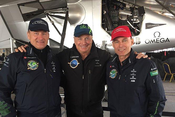 Solar Impulse, een technologisch en menselijk avontuur dat sinds 2008 wordt ondersteund door Clarins.