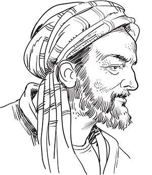 Perzische Arts Avicenna
