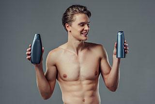 Showergel en Deodorant